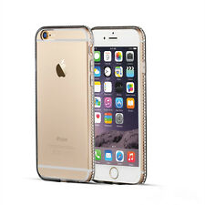 Luxury Diamond Ultra-thin Soft Silicone TPU Case Cover For iPhone 5 6 6s 7 Plus