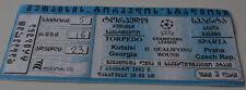 Ticket for collectors CL Torpedo Kutaisi Sparta Praga 2002 Georgia Czech Rep.