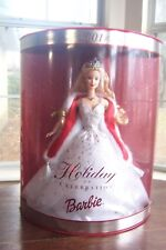Mattel Barbie Special Edition 2001 Holiday Celebration Barbie NIB 50304