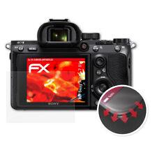 atFoliX 3x Anti Shock Screen Protector for Sony Alpha 7 III matt&flexible