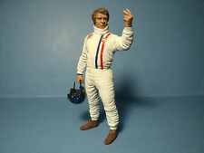 FIGURINE  STEVE  MC QUEEN   VROOM   A   PEINDRE  1/18   UNPAINTED  NO SPARK