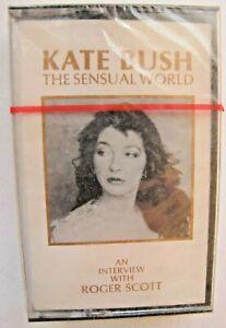 Kate Bush Sensual World Interview Roger Scott Canada Promo Cassette Tape SEALED