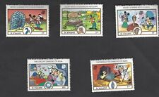 ST. Vincent 1989 Disney stamps