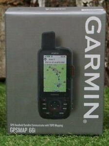 "Garmin GPSMAP 66i Handheld GPS and Satellite Communicator - 3"""