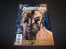NEW 52 ANIMAL MAN #4 1ST PRINTING DC COMICS JEFF LEMIRE TRAVEL FOREMAN JEFF HUET