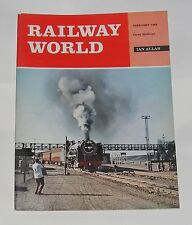 RAILWAY WORLD FEBRUARY 1969 - ACROSS THE CHANNEL TODAY AND YESTERDAY