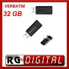PEN DRIVE VERBATIM CHIAVETTA PEN DRIVE USB 2.0 PENDRIVE 32GB 32 GB PENNA 49064
