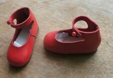 Jasmines Cottage Sudie Red Leather Doll Shoe SD 70mm fits Wiggs & Lasher