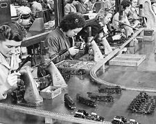 Production on Hornby trains at the Meccano Factory 10x8 Photo