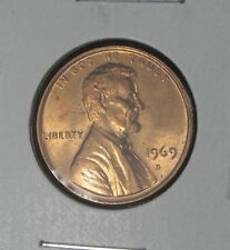 1969 D LINCOLN MEMORIAL CENT UNCIRCULATED FROM ROLL