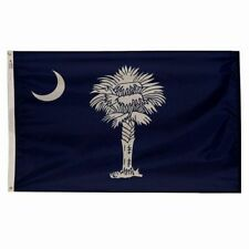 5x8 ft SOUTH CAROLINA The Palmetto State OFFICIAL FLAG Outdoor Nylon Made in USA