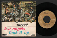 "7"" SWEET LOST ANGELS / FUNK IT UP RCA 1976 MADE IN ITALY POP GLAM HARD ROCK"