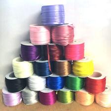 "5 yds Satin Ribbon 3mm 1/8"" scrapbook sewing craft single sided diy sewing #869"