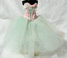 Pink & Mint Green Tulle Ballet Costume from Barbie as Marzipan in the Nutcracker