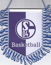 FC Schalke 04 + Wimpel + Banner + Basketball + WBV Pokal Sieger 1975 2011 2015