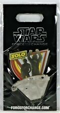 Disney Solo Star Wars Force For Change Millennium Falcon 3-D Pin Le 3000 New