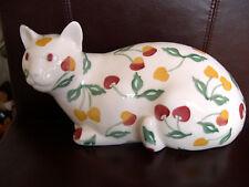 Emma Bridgewater Cat Summer Cherries Right Dido Crosby Discontinued New GRADE1