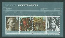 GB The Age of Lancaster and York Miniature Sheet MS2818 - 2008
