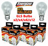 ENERGIZER 40W 60W 100 WATT GLS CLEAR HALOGEN BULB BAYONET SCREW BC/ B22 ES/ E27