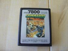COMMANDO - Atari 7800 (1986) GENUINE ATARI GAME - CARTRIDGE ONLY