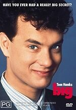 Big * NEW DVD * Tom Hanks (Region 4 Australia)