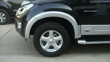 FENDER FLARES V.1 PAINTED FOR ALL NEW ISUZU D-MAX 2012 -2014