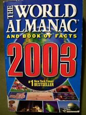 The World Almanac and Book of Facts 2003 by Ken Park (2002, Paperback)