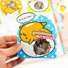 50 x Creative Gudetama Lazy Egg Sealing Stickers Diary Label Stickers Pack Decor