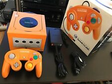 Orange Nintendo GameCube Console Boxed with Language/Region Switch and Chipped.