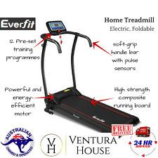 Motorised Treadmill Walking Fitness Equipment Everfit Home Exercise Machine New