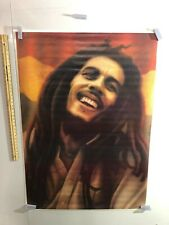 HUGE SUBWAY POSTER Bob Marley Rasta Painting print Poster Large Marijuana LOVE