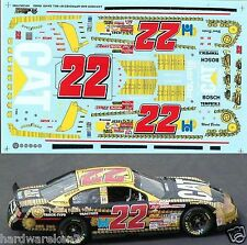 NASCAR DECAL #22 CAT TRACK-TYPE TRACTORS 2001 DODGE WARD BURTON - SLIXX