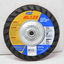 """Norton Blaze Flap Discs 7"""" X 40 Grit X 5/8-11 R980P 8600 MAX RPM (Case of 10)"""
