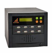 evocept 8 slot 7 target USB Flash Copier Duplicator Tower