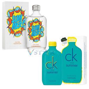 CALVIN KLEIN CK ONE SUMMER / EDITION 100ML EDT SPRAY UNISEX PERFUME