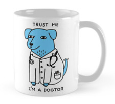Dogtor Doctor Veterinary Vet Latte Unique Funny Cup Mug Tea Coffee Gift Present
