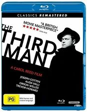 *New & Sealed* The Third Man (Remastered on Blu-ray 2017) Orson Welles Reg B AUS