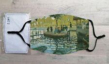 Bain à la Grenouillère face mask (Claude Monet)
