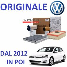 KIT TAGLIANDO FILTRI ORIGINALI VW GOLF 7 VII 1.6 TDI 2.0 TDI DAL 2012 IN POI