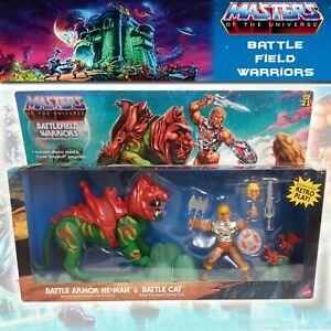 MOTU Origins Battlefield Warriors Battle Cat Battle Armor He Man Grayskull set