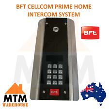 BFT CELLCOM PRIME HOME INTERCOM SYSTEM