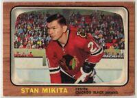 1966-67 Topps Hockey #62 Stan Mikita G-VG Condition (2020-03)