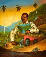 Original Art Painting Oil Canvas Santiago Cuba artist YORDANIS LOPEZ ACOSTA 3