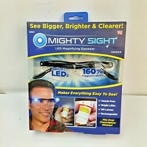 Mighty Sight LED Magnifying Eyewear Glasses as Seen on TV