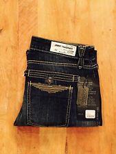 Brand New Women's Jimmy Taverniti Surplus Boot-Cut Denim, Antique Blue, Size 29