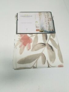 Threshold Shower Curtain, 100% Cotton, 72in x72in, Multi-colored Floral