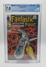Fantastic Four #72 CGC 7.0 Classic Silver Surfer Cover Kirby Marvel (1968)