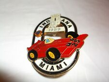 CR18) 1989 Indiana MD 25 Miami Race Car Lions Club Pin