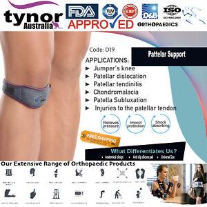 Tynor™ Jumper's Knee Band Patella Tendonitis Support Strap Orthopaedic Brace Gym