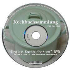 69 alte KOCHBÜCHER Kochbuchsammlung als ebooks DVD ebooksammlung Kochen Backen